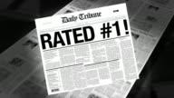Rated #1 - Newspaper Headline (Reveal + Loops) video