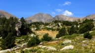 Reaching the mountain peak video