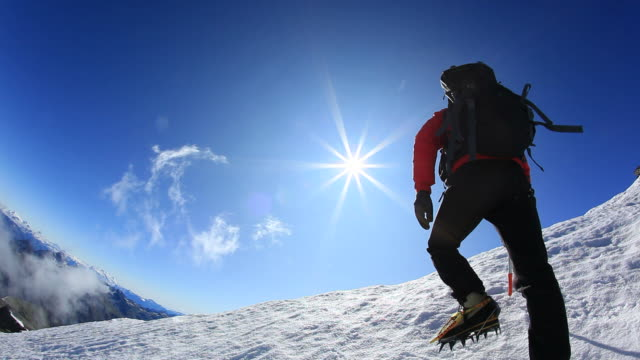 Reaching the summit - HD1080p video