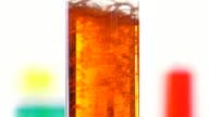 reacting of a liquid containing sodium bicarbonate with acid video