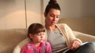 Reading a book (HD) video