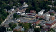 Reading  - Aerial View - Massachusetts,  Middlesex County,  United States video