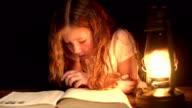 Reading at Night video
