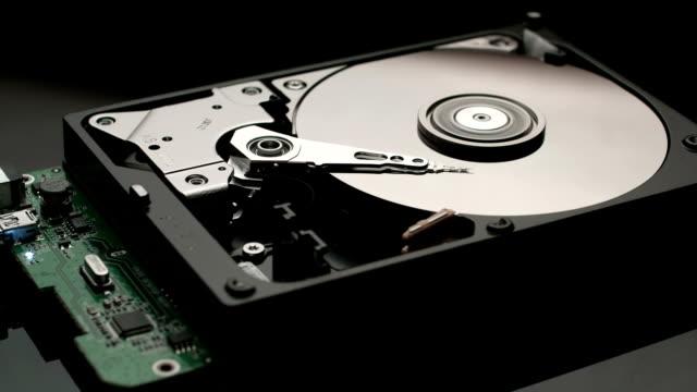 Reading data hard disk drive video