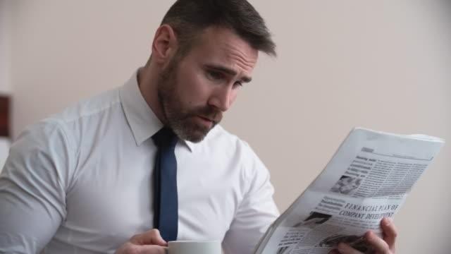 Reading Morning Newspaper video