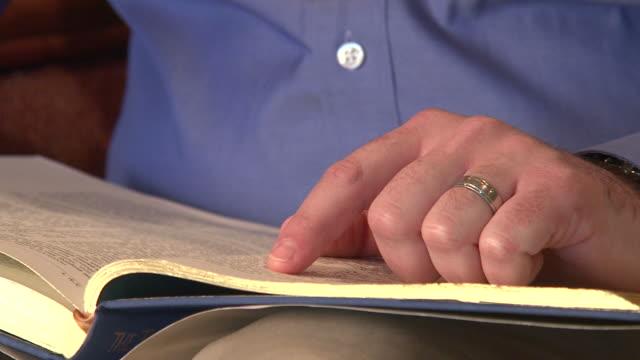 Reading Scripture video
