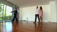 HD DOLLY: Real Estate Agent Showing New Home video