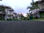 Real Estate: Sunrise over Empty Street - No Buyers, Push video