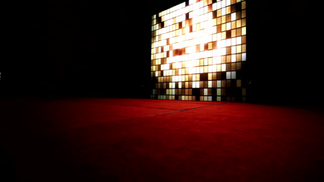 Real LED Lights Backdrop with Red Carpet Stage video