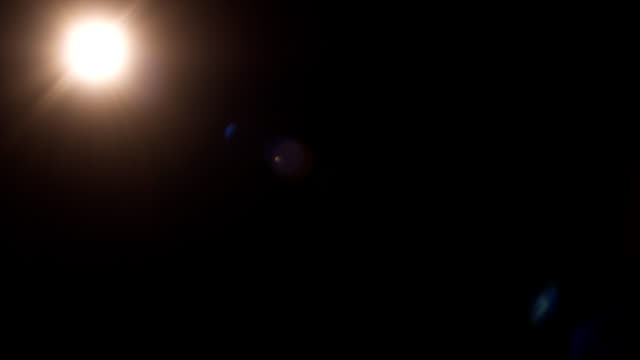 Real lens flare 28mm top warm video