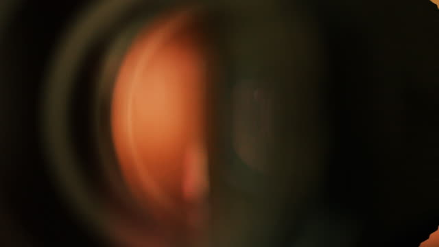 Real lens refraction video