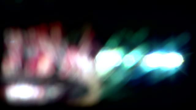 Real Light Leaks and Bokeh - Loop 18 - Colorful - Slow video