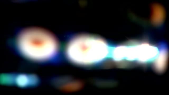 Real Light Leaks and Bokeh - Loop 19 - Colorful - Slow video