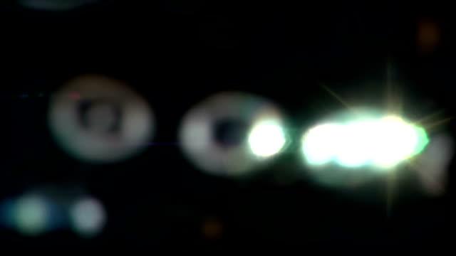 Real Light Leaks and Bokeh - Loop 20 - Colorful - Fast video