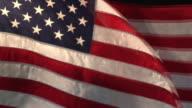Real US American Flag 02 (HD) video