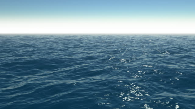 Realistic CG Ocean video