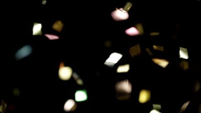 Realistic Confetti Footage video