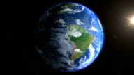Realistic Earth Background full loopable video