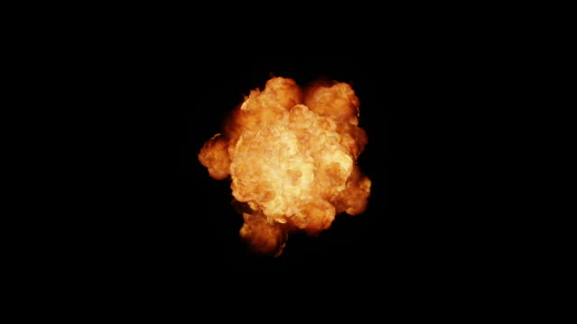 Realistic Explosion + Alpha video