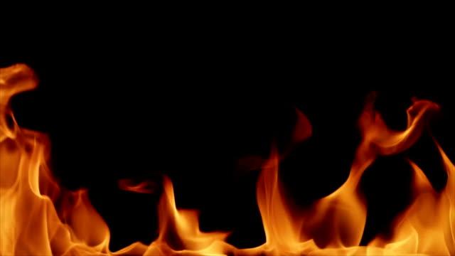 Realistic Fire. HD Resolution video