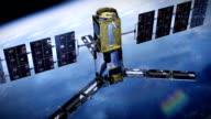 Realistic Telecommunication satellite video