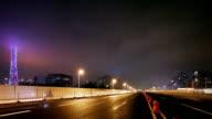 Realtime clip of Guangzhou bridge renewed video
