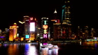 HD real-time video , in Shanghai at Night video