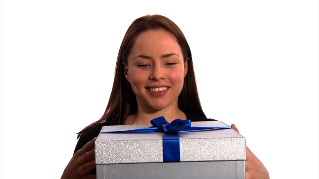 Receiving a gift video