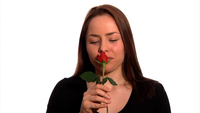 Receiving a red rose video