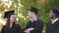 Receiving Diplomas video
