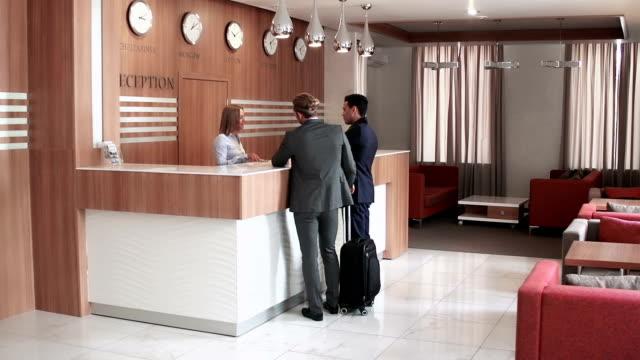 Reception Service Routine video