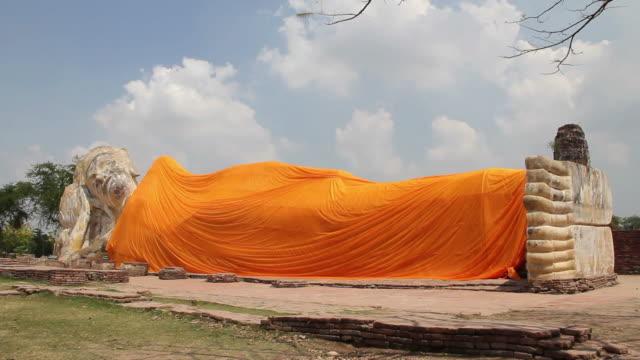 Reclining Buddha video