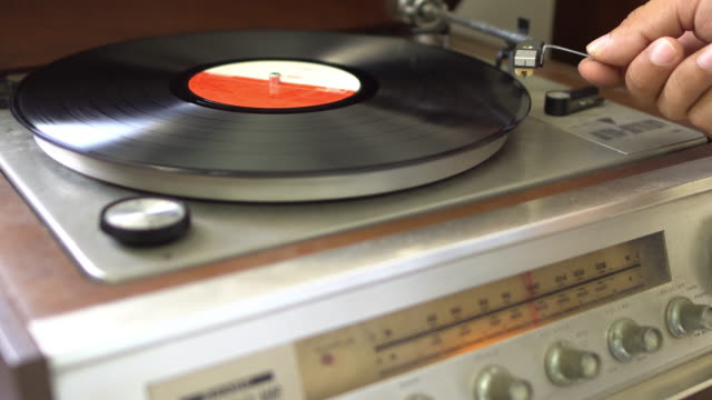 Record Player video