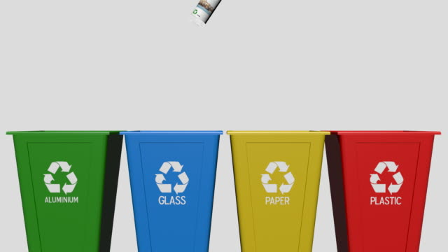 Recycle bin video
