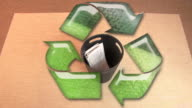 Recycle Concept HD video
