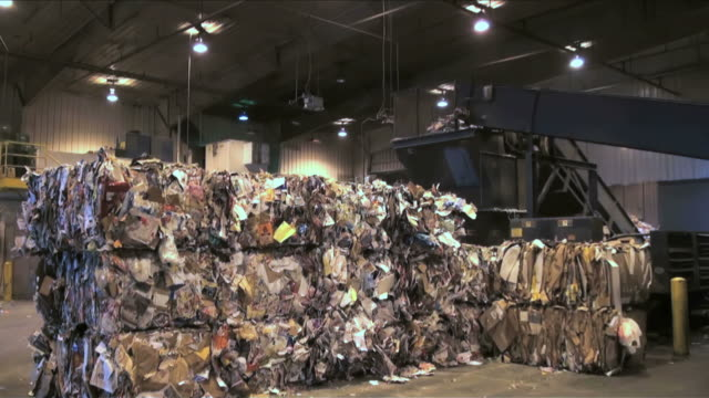 Recycle,  recycling, landfill, garbage, environment, waste, dump, trash video