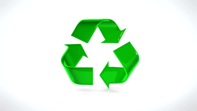Recycle Symbol video