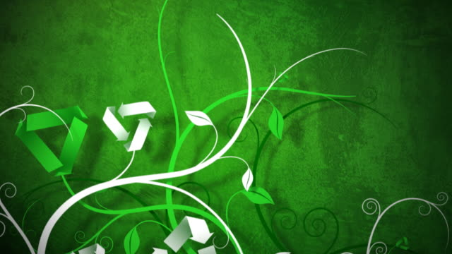 Recycle Vines Background video