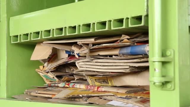Recycling cardboard video