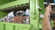 HD : Recycling Garbage video