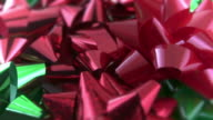 Red & Green Gift Bows video