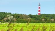 Red and White Striped Lighthouse video