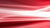 Red background animation of flowing streaks of light video