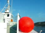 Red Ball on Boat video