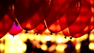 Red Balloons Floating HD Video video