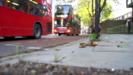 HD SUPER SLOW-MO: Red Buses In London video