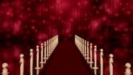Red Carpet and Velvet theatre curtains. Chroma key video