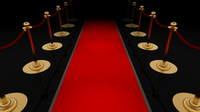 Red carpet (Loopable) video