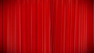 Red curtain, Opening and closing 3d animation, HD, mask. video