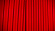 red curtain video